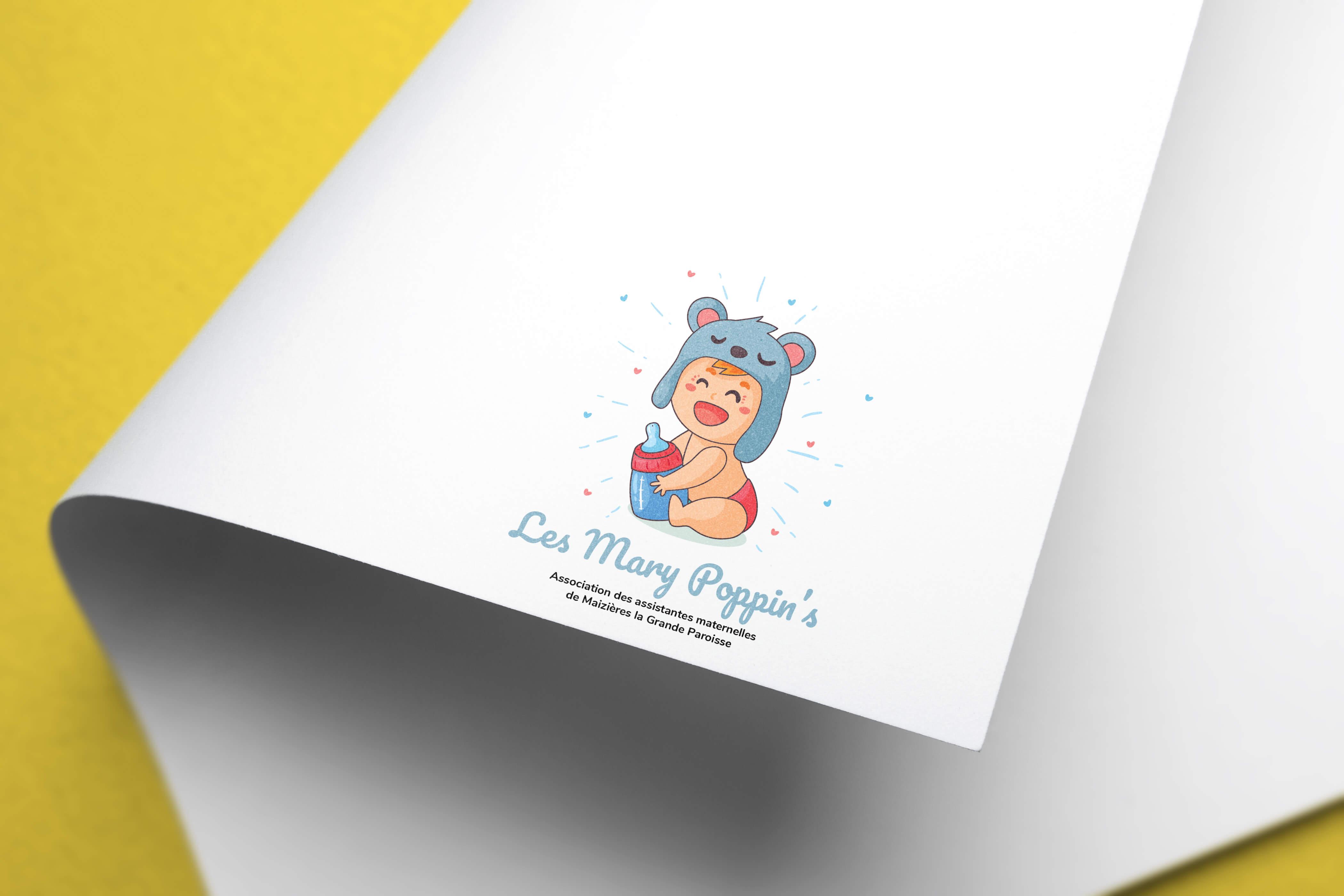 les-mary-poppins-mockup-logo